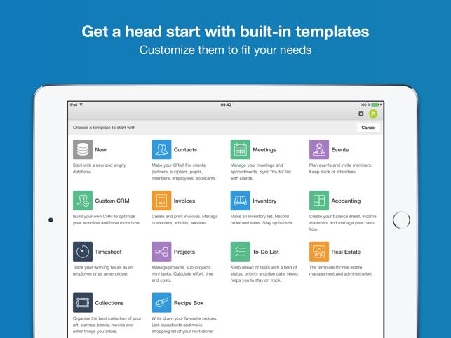 Ninox Database for iPad on the App Store
