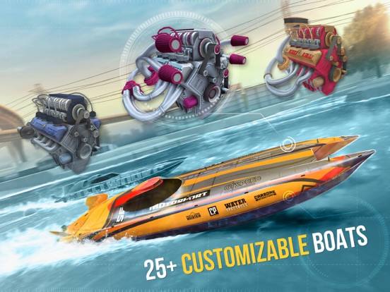 Top Boat: Racing GP Simulator-ipad-3