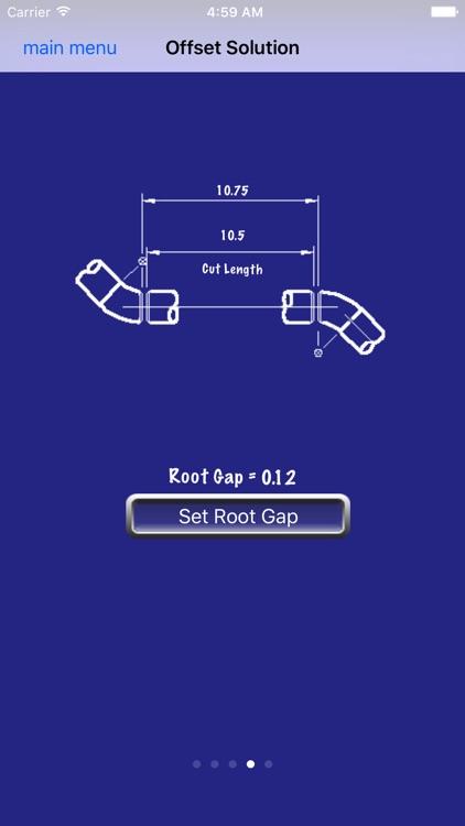 Piping Offset Calculator screenshot-3