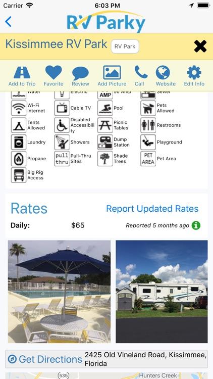 RV Parky - Parks & Campgrounds screenshot-3