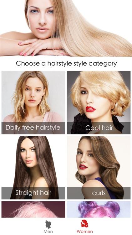 Hair Style Salon&Color Changer screenshot-9