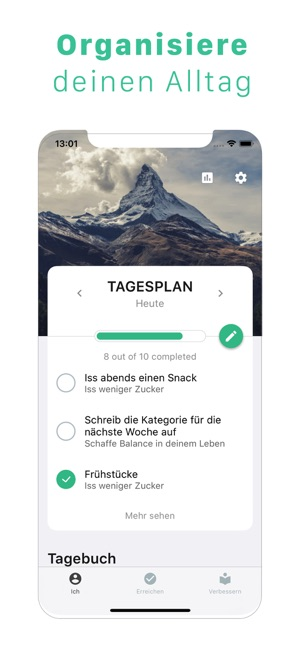Remente - Ihre Ziele erreichen Screenshot