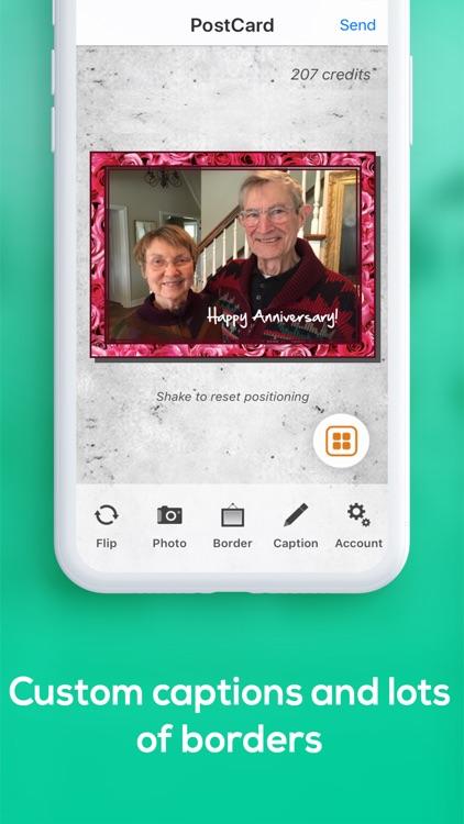 SnapShot Postcard App screenshot-4