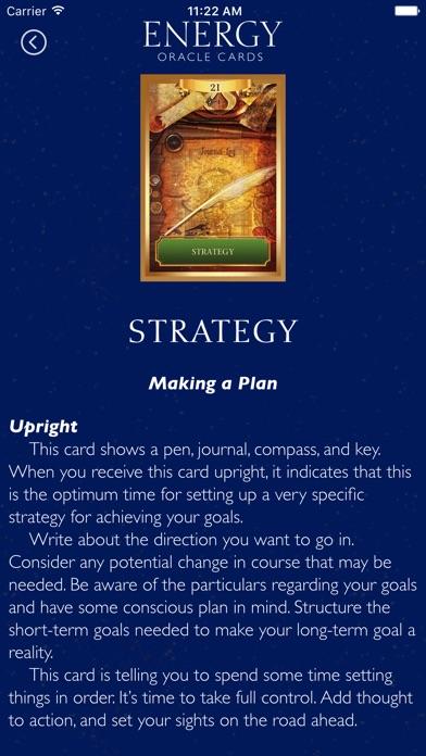 Energy Oracle Cards screenshot 5