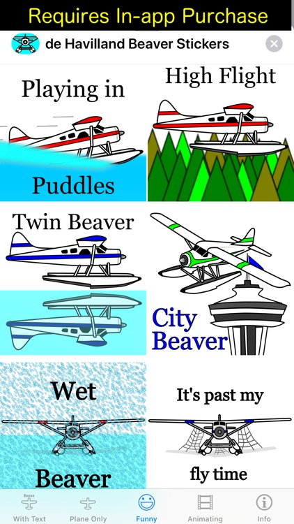 DHC-2 Beaver Sticker App screenshot-6