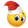 Animierte Emoji Weihnachten