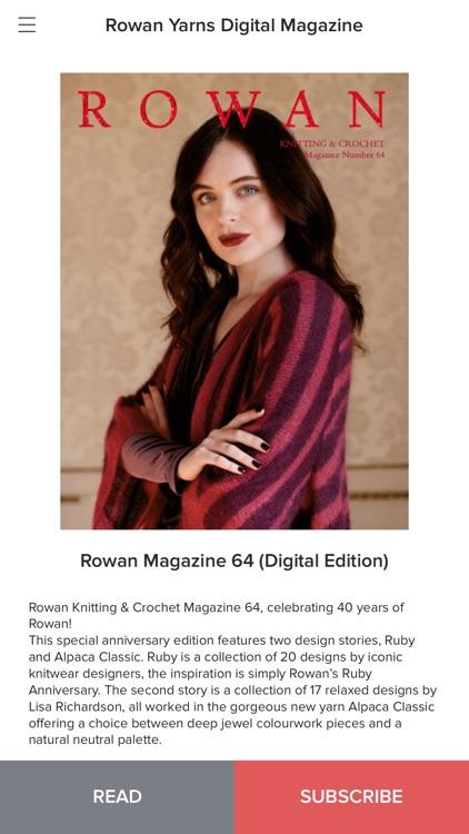Rowan Yarns Magazine screenshot-3