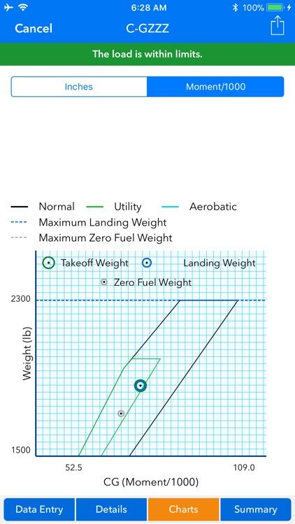 Aircraft Weight and Balance screenshot-8