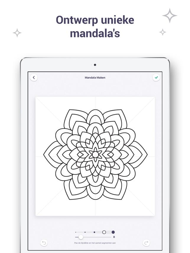 Cijfers Mandala Kleurplaten.Kleurboek Voor Mij En Mandala In De App Store