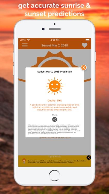 SkyCandy - Sunset Forecast App screenshot-0