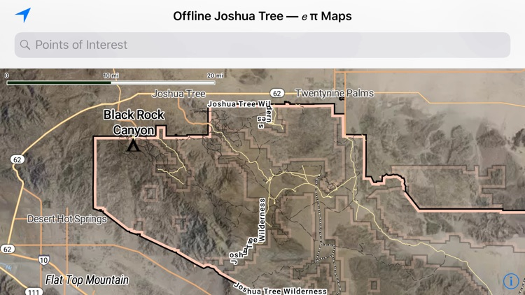 Offline Joshua Tree Map screenshot-0