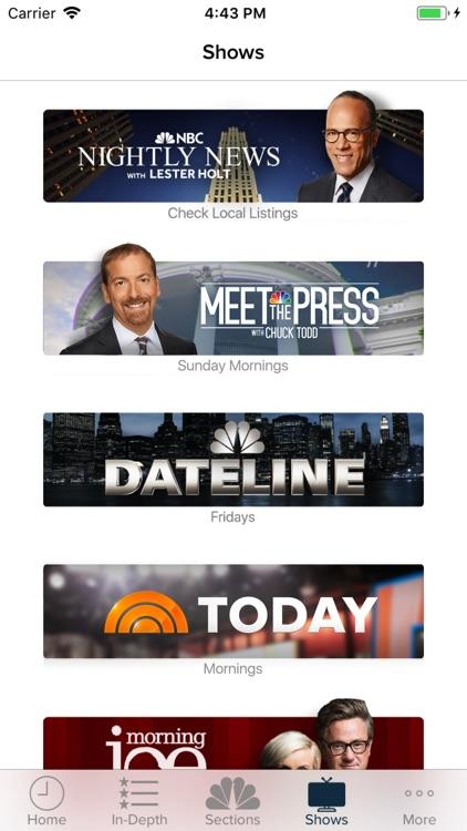NBC News screenshot-4