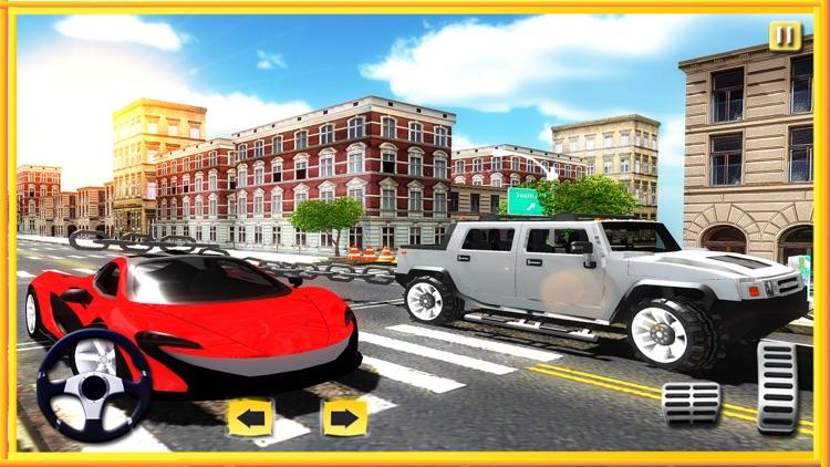 Chained Car Racing 3D screenshot-3