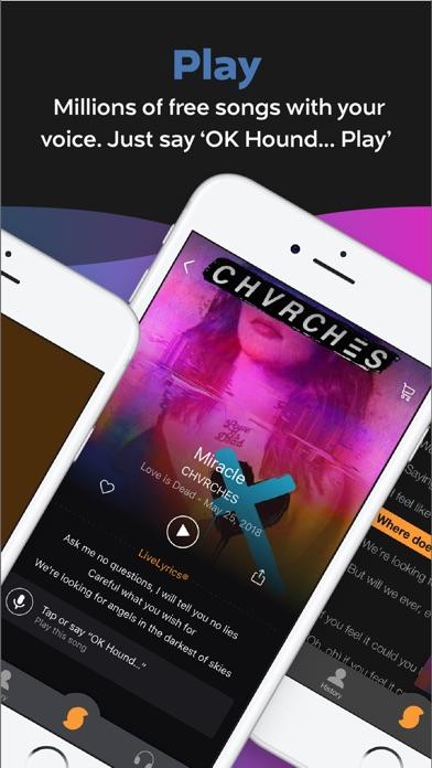 Soundhound review screenshots