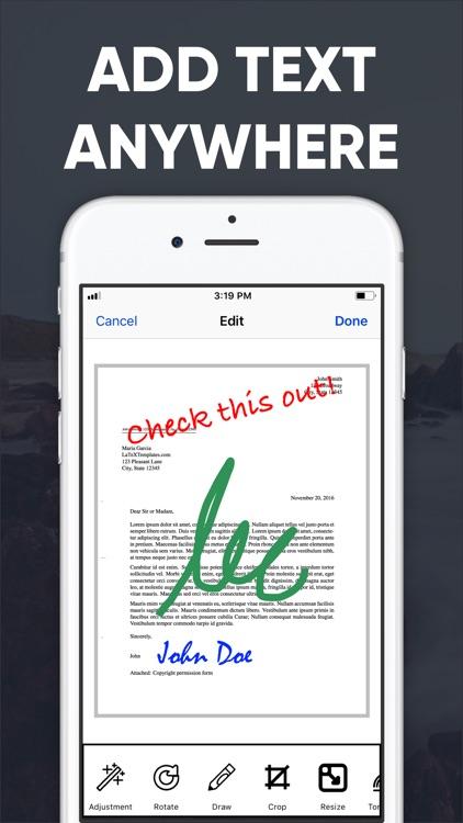 PDF Scanner - Scan to PDF App screenshot-6
