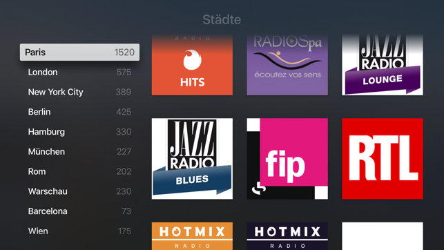 ‎radio.de - Radio und Podcast Screenshot