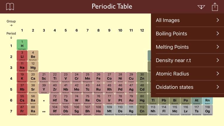 Periodic Table Lite screenshot-3