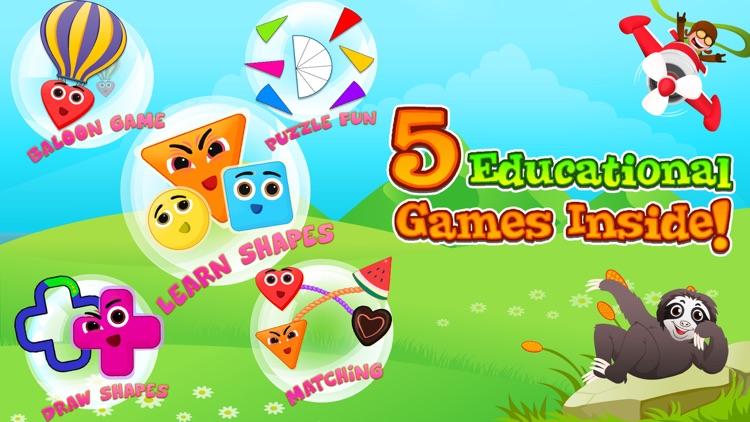 Shape Puzzle Educational Games screenshot-4