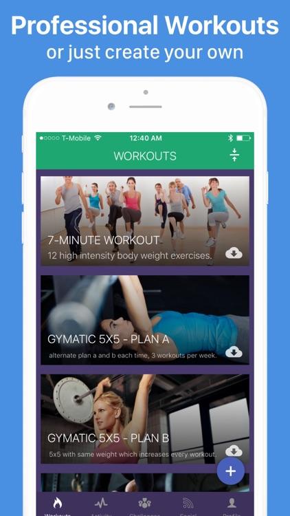 Gymatic Workout Tracker screenshot-5