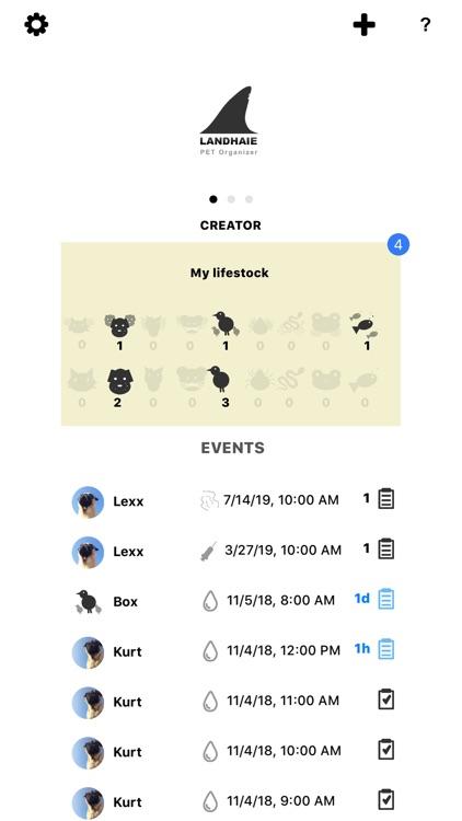 Landhaie - Pet Organizer screenshot-0