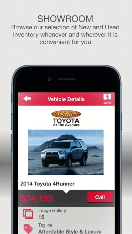 Coggin Toyota At The Avenues Screenshot 2