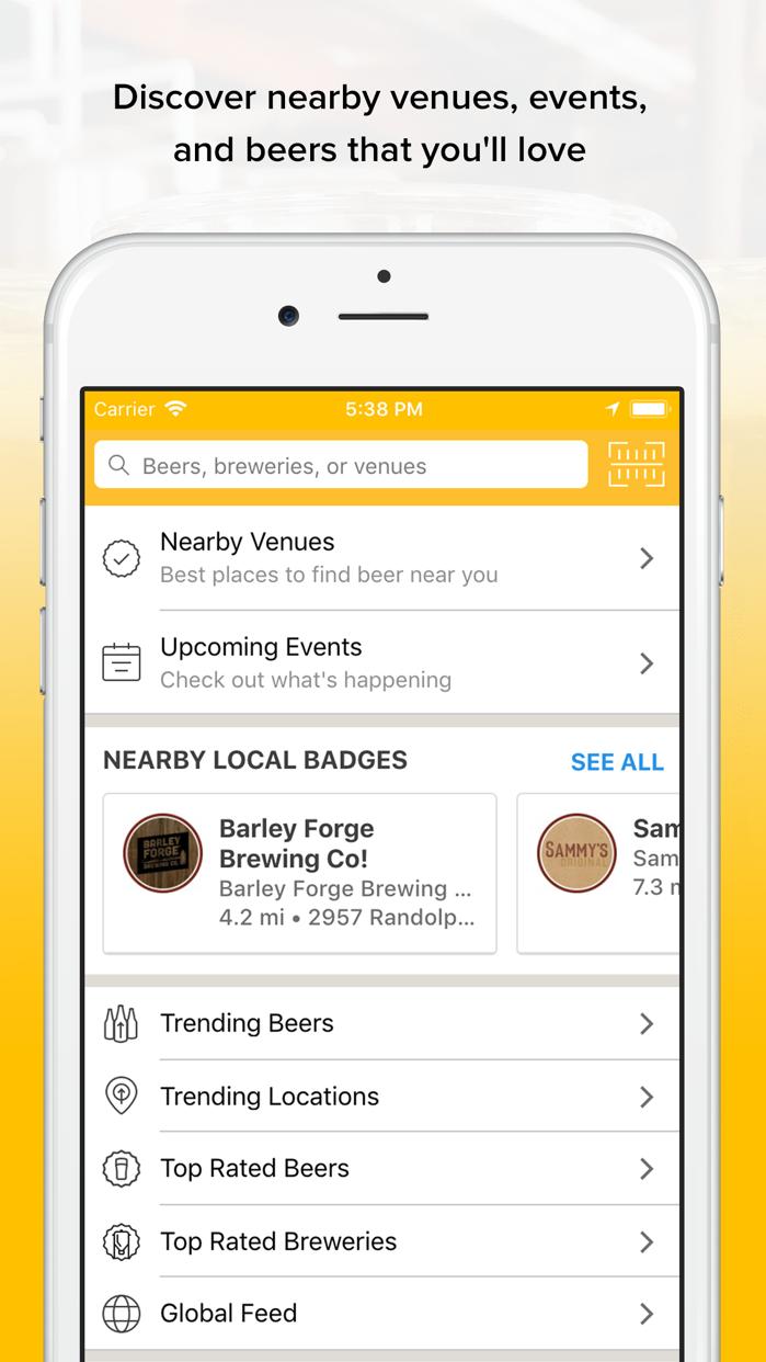 Untappd - Discover Beer Screenshot