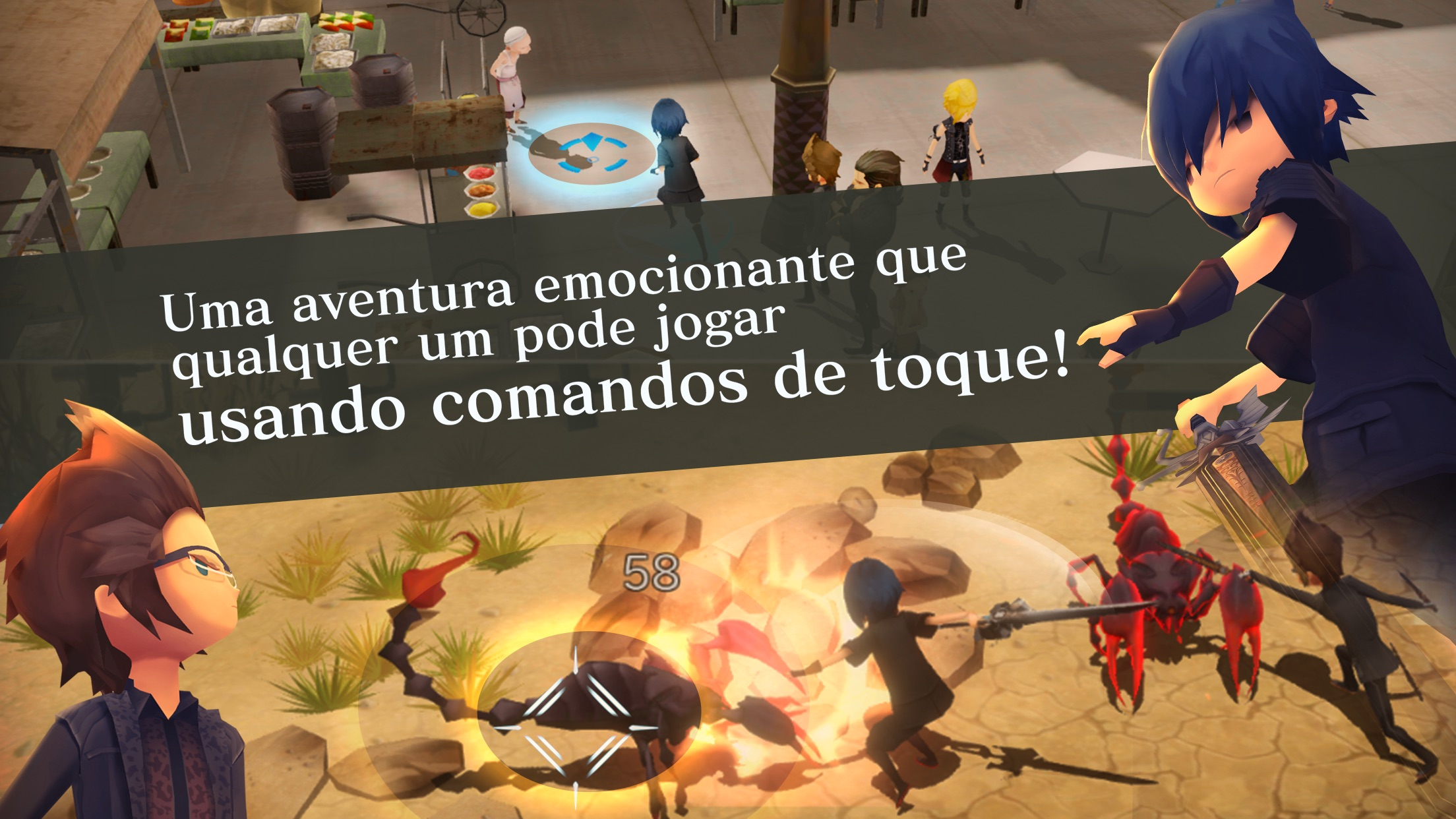 Screenshot do app FINALFANTASY XV POCKET EDITION