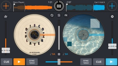 Cross DJ Pro screenshot 1