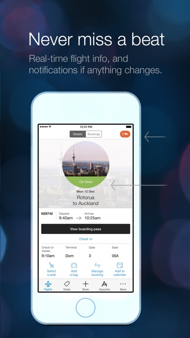 Download Air NZ mobile app for Pc