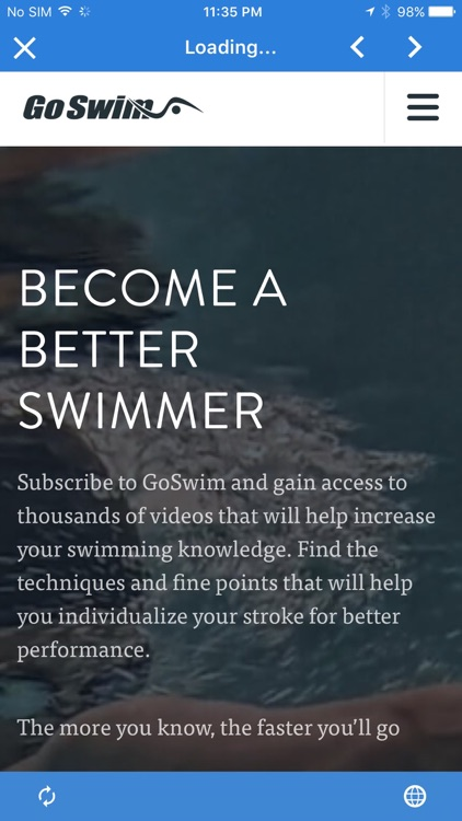 GoSwim Lite screenshot-2