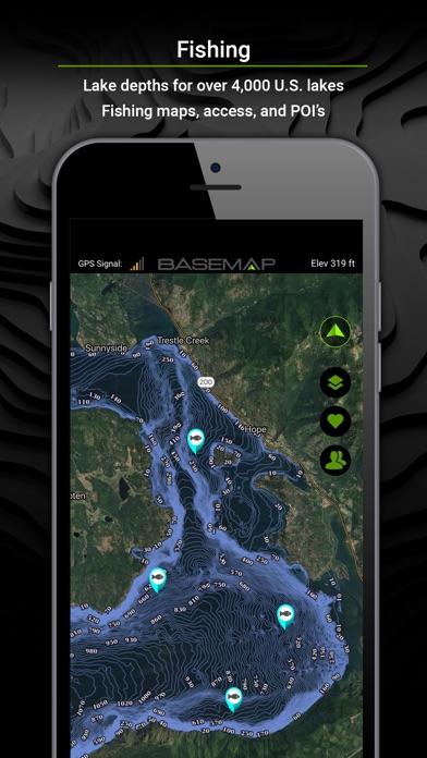 BaseMap: GPS for the Outdoors for Windows