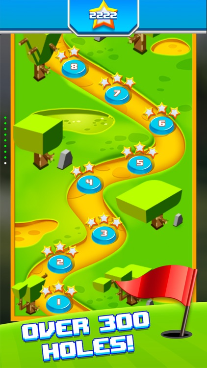 Mini Golf Star Retro Golf Game screenshot-4