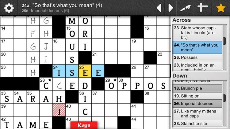 Devarai Crossword Pro screenshot-6