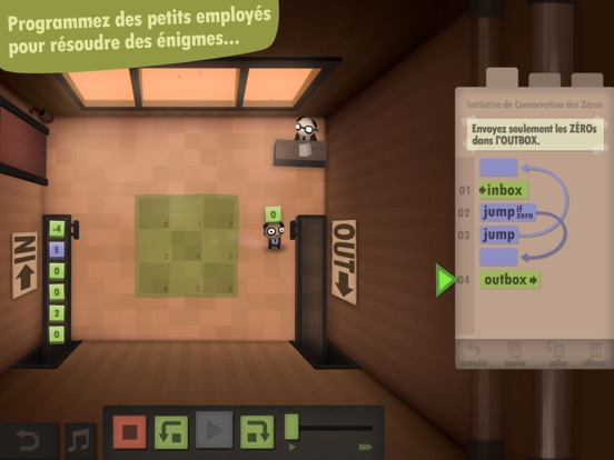 Screenshot #5 pour Human Resource Machine