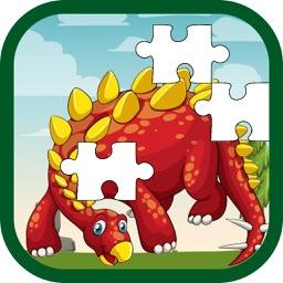 Dinosaur jigsaw puzzle - problem solving skills