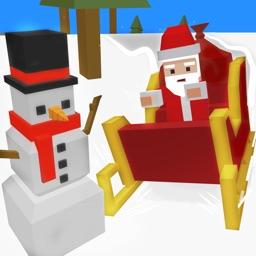 Xmas Santa Mad Sleigh Run