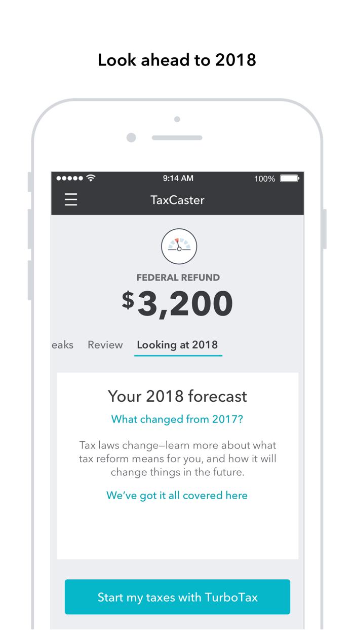 TaxCaster: Tax Calculator Screenshot