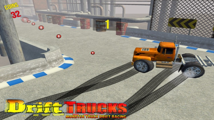 Drift Monster Truck Racing