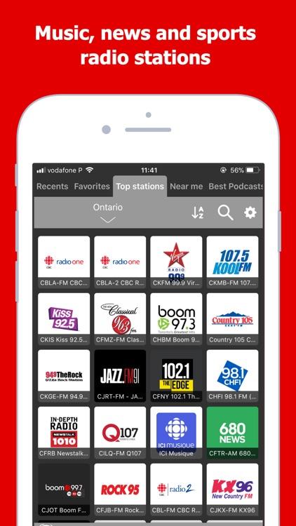 Radio Canada: Live AM FM Tuner