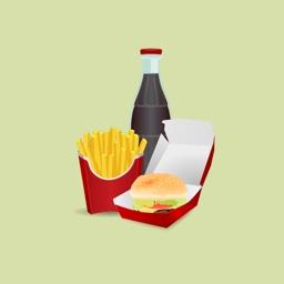 Fast Food Stickers: Tasty!