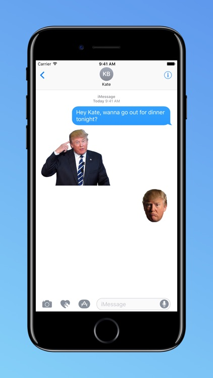 Dump Trump for Messages