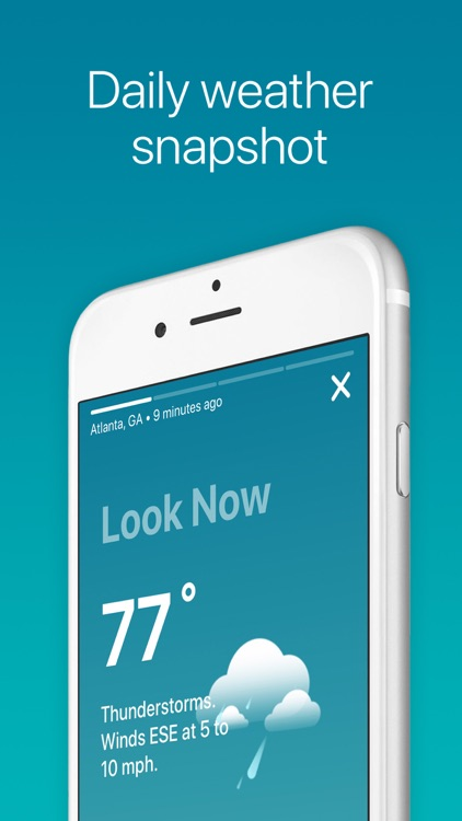 The Weather Channel: Live Maps screenshot-3