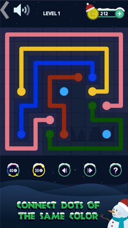 Connect Dots:Winter Quest screenshot-3