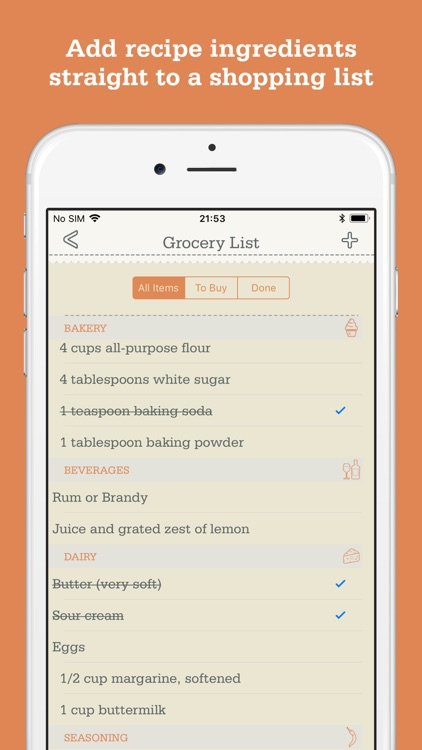 OrganizEat - Recipe Organizer screenshot-3