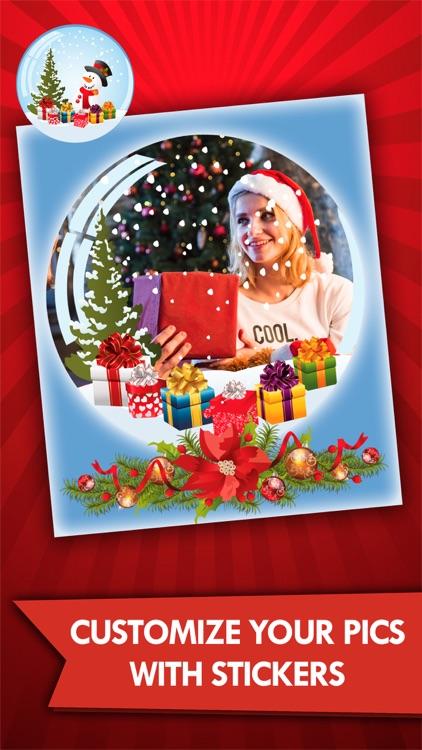 Christmas photos frame editor screenshot-3