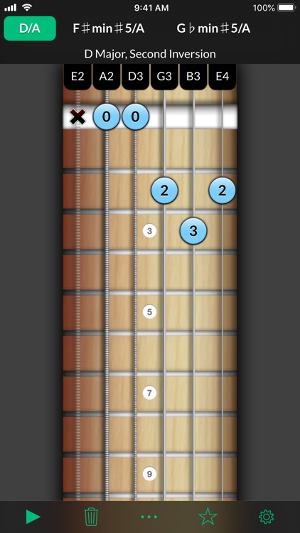 Reverse Chord Finder Pro screenshot-0