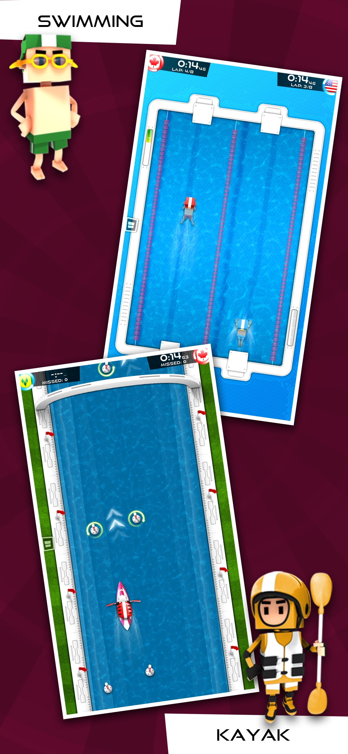 Screenshot do app Flick Champions Summer Sports