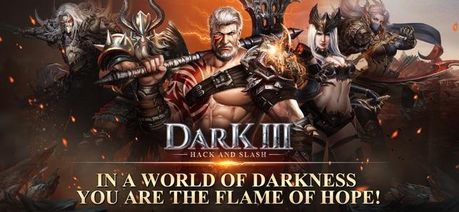 Dark 3: Hack and Slash on the App Store