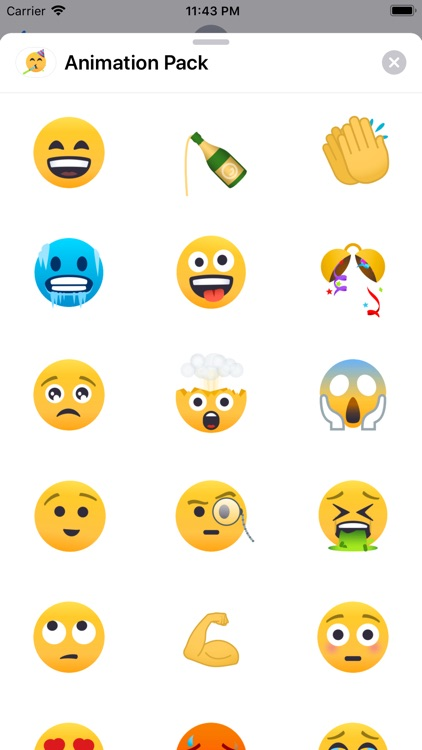 Animated Emoji by EmojiOne
