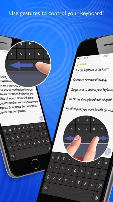 Swipe Keyboard Simple Screenshots